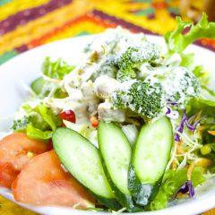 チキンブロッコリーサラダ